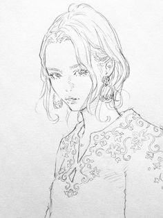Ink Illustrations, Illustration Art, Drawing Sketches, Art Drawings, Wings Sketch, Manga Artist, Anime Sketch, Art Reference Poses, Character Drawing