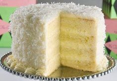 Susan Recipe: ITALIAN CREME COCONUT CAKE
