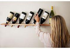 Minimalist wine rack