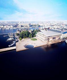 ARCHITECTURE ÜBER ALLES - ryanpanos: Nobel Center Competition Proposals|...