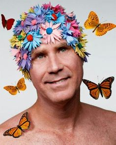 Will Ferrel and i love this pic of him lmao