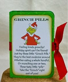 Craft ideas / Enchanted Ladybug Creations: Snowman Poops & Grinch Pills.. 8-)