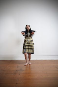 kapa haka studio portraits by Jew Mason