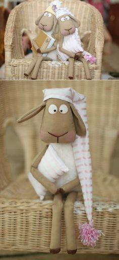 Выкройка коня, по которой можно сшить и забавных овечек / Мир игрушки / Разнообразные игрушки ручной работы | Мягкая игрушка | Постила