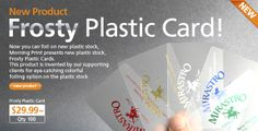 Select from a variety of professional business cards and order now for business cards. Get designer premium cards of clear plastic, metallic and more. Transparent Business Cards, Recent Discoveries, Plastic Card, Professional Business Cards, New Product, Inventions, Stickers, Fonts, Marketing