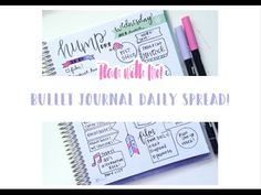 how to start a bullet journal - YouTube