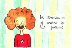 Diario de JULIETA. La sonrisa es el arco iris de las personas.