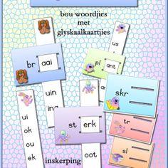 Begin Klanke - Teacha! 1st Grade Worksheets, Begin, Afrikaans, Spelling, Teaching, Words, School, Om, Image