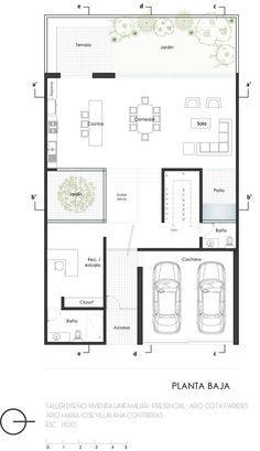 Galería de Estos son los mejores proyectos finales del curso en línea Taller de Diseño Arquitectónico 'Vivienda Unifamiliar' - 92