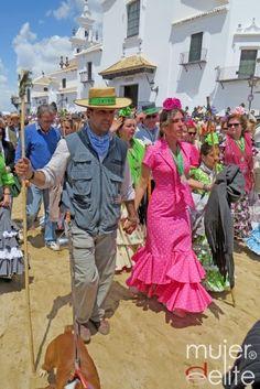 Francisco Rivera y Lourdes Montes en el Camino del Rocío 2013