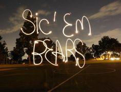 #SicEm, Bears!