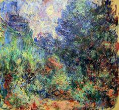 Claude Monet, La maison de Giverny vue du jardin aux roses, 1922-1924