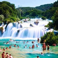 Krka National Park, Croatia. Added to the bucket list ! ✔️ Tag a friend who you'd love to go here with / or have been! #yohome #travel #wanderlust