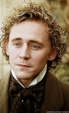 I REALLY need to pull the trigger and watch this! I need more curly fair haired Tom in my life. (gifset)