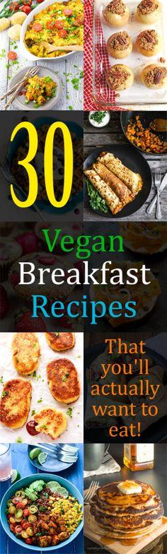 Vegan Breakfast Recipes Pin