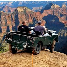"""C'mon, just put it in low range and let's go for it!"" #Landrover #Series I"