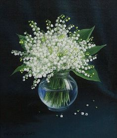 My Flower, Flower Art, Beautiful Flowers, Lily Of The Valley Flowers, Flower Meanings, Arte Floral, Bouquets, Floral Arrangements, Wedding Flowers