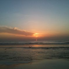 Jacksonville Beach, Florida...home away from home.  My husband grew up here, and we visit at least once a year.  Nothing quite as peaceful and wonderful as the ocean...