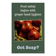 Shop Food safety - Hand-washing poster created by Drpooh. Type Posters, Custom Posters, Food Posters, Hand Washing Poster, Safety Posters, Hand Hygiene, Health Department, Food Safety, Safe Food