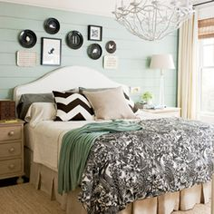 Style Guide: Master Bedrooms   Modern Drama   SouthernLiving.com
