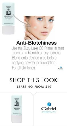 """""""Anti-Blotchiness CC Primer"""" by jeanamelia on Polyvore featuring beauty"""