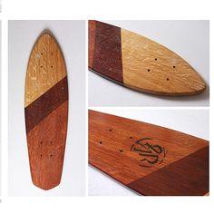 Handmade Skateboard Colibri Tan Lines par laplanchearoues sur Etsy, €170.00