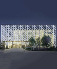 WSP architects' convention and exhibition center is like an ivory statuette WSP architects' convention and exhibition center in china resembles an ivory carved statuette Facade Architecture, Sustainable Architecture, Amazing Architecture, Landscape Architecture, Ancient Architecture, Mall Facade, Facade House, Building Facade, Building Design