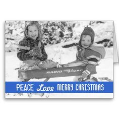 Vintage Holiday Wagon Kids Greeting Cards