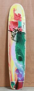 "Gravity 45"" Tropical Splash Longboard Deck"