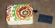 Purva Boxes, Teadip Aari Embroidered Trinket or Jewelry Box SD8302