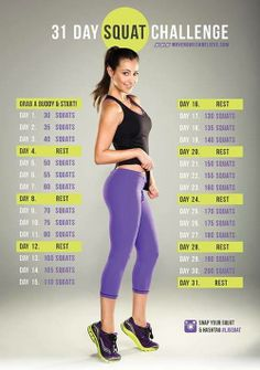 31.day squat challenge