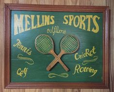 Tennis sign Antique tennis art Tennis wall art Tennis signboard Tennis gift Tennis decor Tennis club sign Tennis wall decor Pub Bar decor Wimbledon Tennis, Tennis Gifts, Tennis Clubs, Pub Bar, Wall Decor, Wall Art, Vintage Home Decor, Vintage Items, Antiques