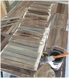 Use shims to DIY home décor, table runners, wall décor, sunburst mirrors and clock, so many options for shims. Popular with the Poplins