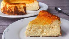 Tarta de queso La viña - Recetas y Postres - Y hoy qué comemos Dessert Recipes, Desserts, Flan, Cakes And More, Cheesecakes, Cornbread, French Toast, Recipies, Food And Drink