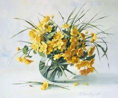 Мобильный LiveInternet Акварели художницы Елены Базановой. Как распускаются цветы... | Nitocris_73 - Оптические иллюзии |
