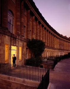 The Royal Crescent-Every time I go to England, I visit Bath and the Royal Crescent.  It is a must to read Persuasion in the park.