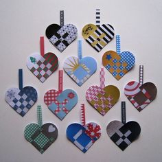 Swedish hearts - ideas for design patterns - this picture only