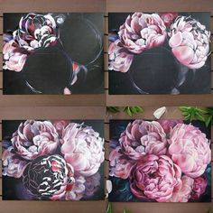 Flower Painting Canvas, Oil Painting Flowers, Painting & Drawing, Watercolor Rose, Pastel Art, Art Tutorials, Art Pictures, Painting Inspiration, Art Lessons