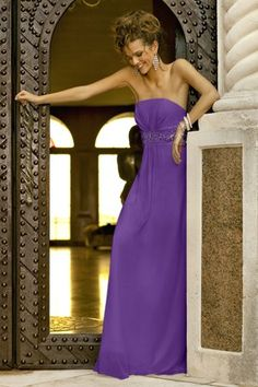 A-line,Band,Strapless Style 914