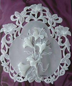Pergamano, Parchment Craft, Dentelle de Papier  ( Mamie dentelle 2010)