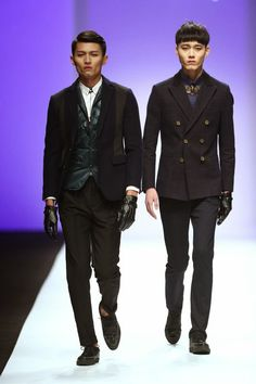 Yuhua Concept Fall Winter 2015 Otoño Invierno - Shanghai Fashion Week  - #Menswear #Trends #Moda Hombre #Tendencias   F.Y!
