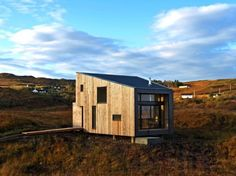 Tiny Timber Fiscavaig House Rests on Stilts in an Ancient Scottish Landscape | Inhabitat - Sustainable Design Innovation, Eco Architecture, Green Building