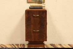 Art Deco Cavalier Night Stand or Chairside Table