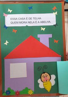 "Atividades Escolares: Livro gigante ""A casa e seu dono"" Elias José Crafts For Kids, Family Guy, Education, Logos, Iris, Image, Creative Activities For Kids, Activities For Toddlers, Literacy Activities"