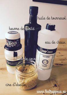 Une recette toute simple pour faire soi-même son propre liniment oléocalcaire. Recette classique + recette pimpée