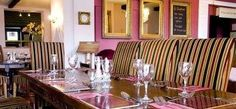 Have #dinner in the gorgeous #bar / #restaurant area at The Swan At Forton, Newport, Shropshire