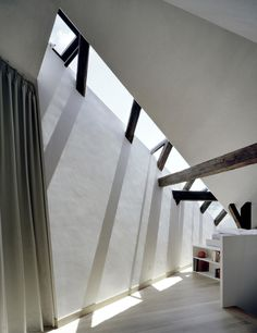 Attic Expansion in Altstadt by Freiluft   Yellowtrace
