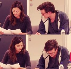 A Doctor and companion a day/Matt Smith, Jenna Coleman x x