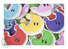 Super Mario Odyssey Power Moon sugar cookies