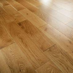 Galleria Structural Engineered German Rustic Oak 150mm Lacquered Floor